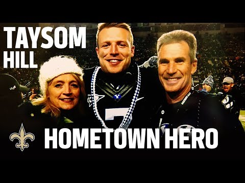 Taysom Hill's Life On & Off the Field | New Orleans Saints