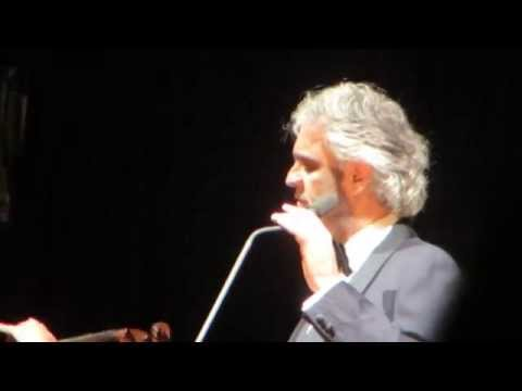 Andrea Bocelli - Granada. December 17, 2014