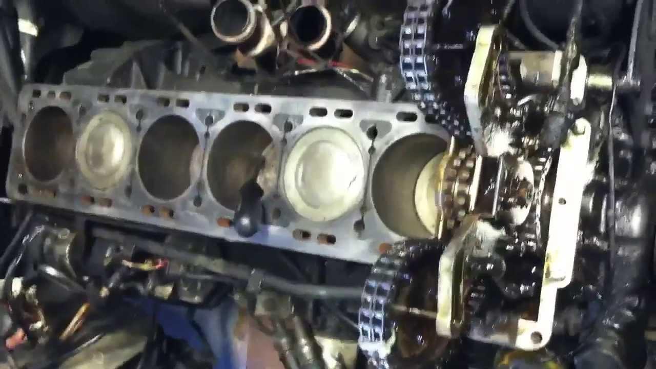 Jaguar Xj6 Head And Crank Front Seal Replacement Part 5