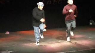 bboy noodle&zesty (gamblerz,soultrain) show 2010!!