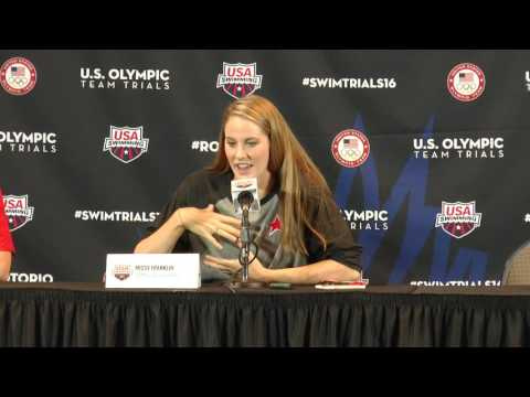 Missy Franklin Press Conference #SwimTrials16