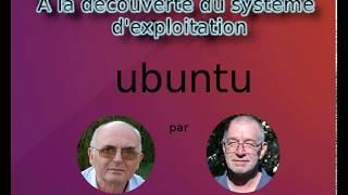 LU013-Installation d'ubuntu