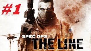 Spec Ops: The Line Campaign Co-op Playthrough (Part 1)