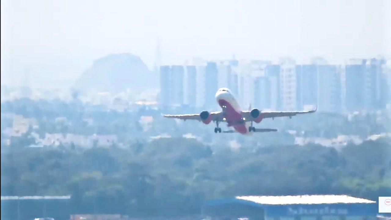 Air India takes off | Chennai international airport | MAA VOMM