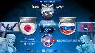 【クラクラ生放送】CWC4(ClashWorldCup4)予選第2戦!vs ロシア!