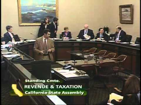 Assembly Revenue and Taxation Committee 2/14/2011
