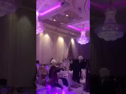 Fight erupts at wedding reception Part 3