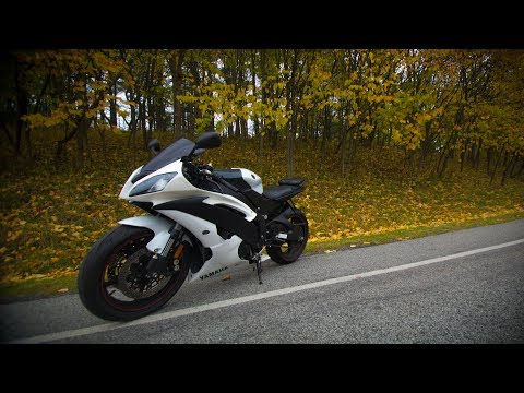 YAMAHA R6 FIRST RIDE (first time on 600)