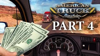 American Truck Simulator Gameplay Walkthrough Part 4 - SO MANY FINES