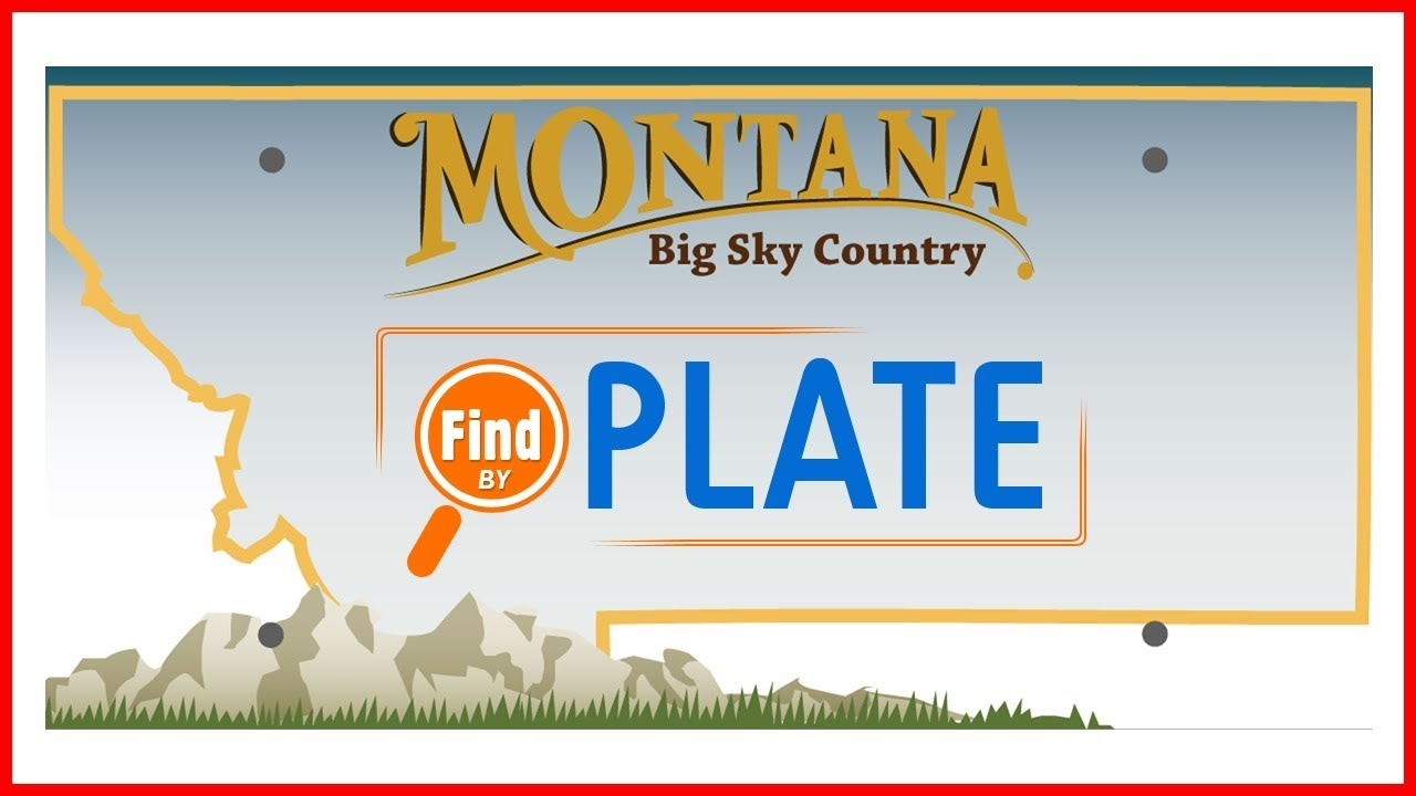 Look Up License Plates in Montana Free