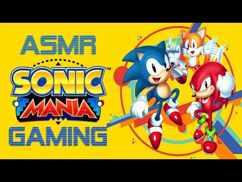 ASMR Gaming | Sonic Mania on PS4 | PlayStation 4 ★Controller Sounds + Soft Spoken Whispering★