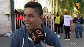 Sergio Oga, jugador de Gimnasia, visitó Deporte a la Carta