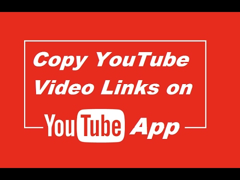 Find and copy video link on youtube app (android / iphone) - Quick Tips