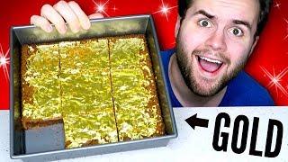 I made REAL GOLD Gourmet Brownies!