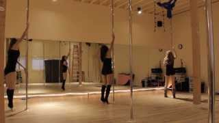 Britney Spears Toxic-Pole choreography