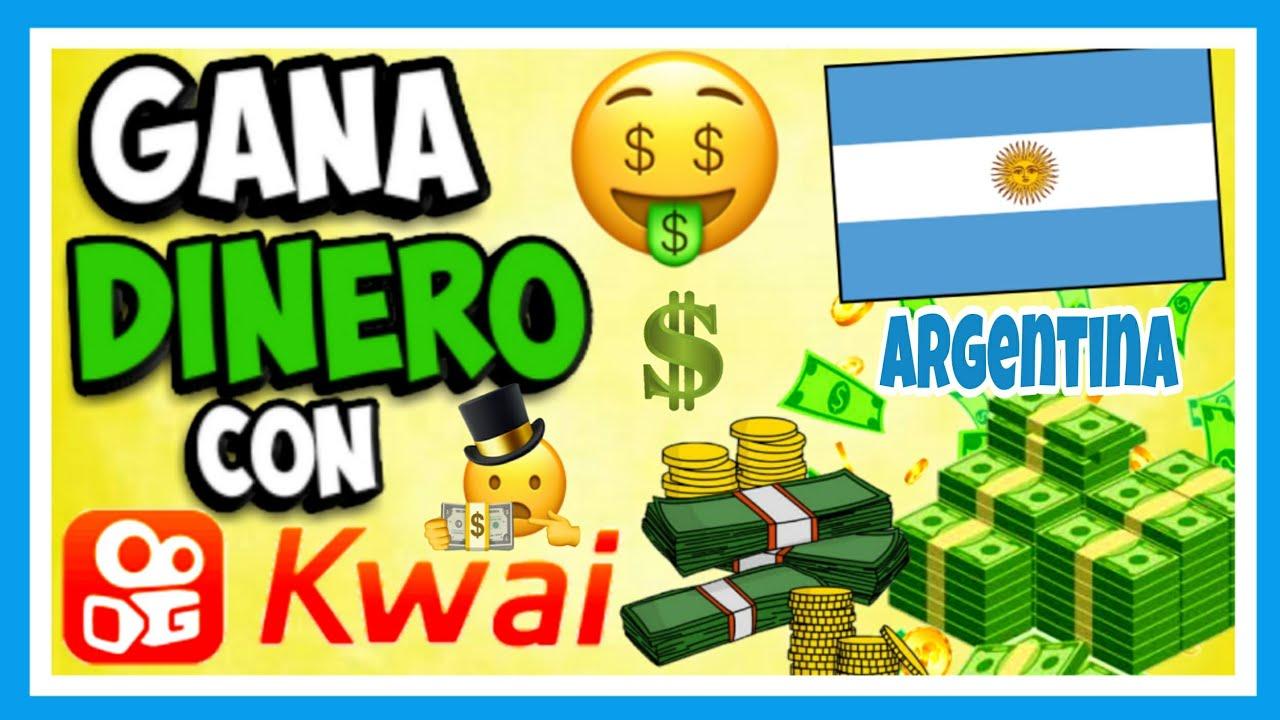 Ganar Dinero Con KWAI En Argentina 🇦🇷 Como Ganar Plata 💵 En Argentina Con KWAI🔥Gana Plata con Kwai 🤑 - YouTube