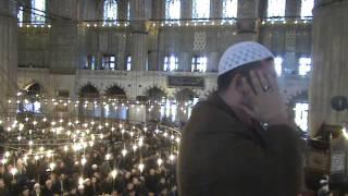 İshak Kızılaslan Sultanahmet Cami İç Ezan     23.01.2015