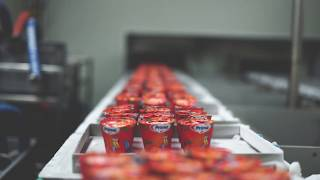 Bidfood Opava – Production of Ice cream in cones
