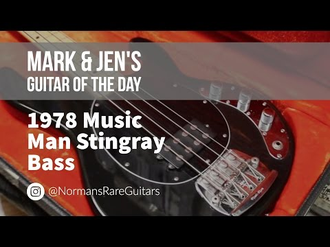 Norman's Rare Guitars - Guitar of the Day: 1978 Music Man Stingray Bass