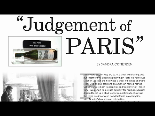 Deep Red Stories - Episodio 10: La degustazione di Parigi del 1976