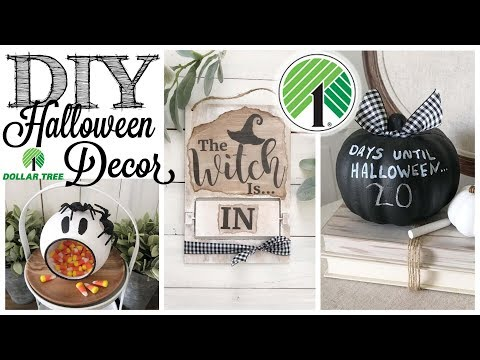 DIY Dollar Tree Halloween Decor | 3 PROJECTS!