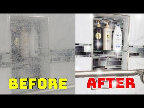 Phòng tắm kính - Mẹo Hay   Cách Làm Sạch Kính Phòng Tắm Bóng Loáng Không Vết Dơ - Vệ Sinh Phòng Tắm Sạch Đẹp Dễ Dàng