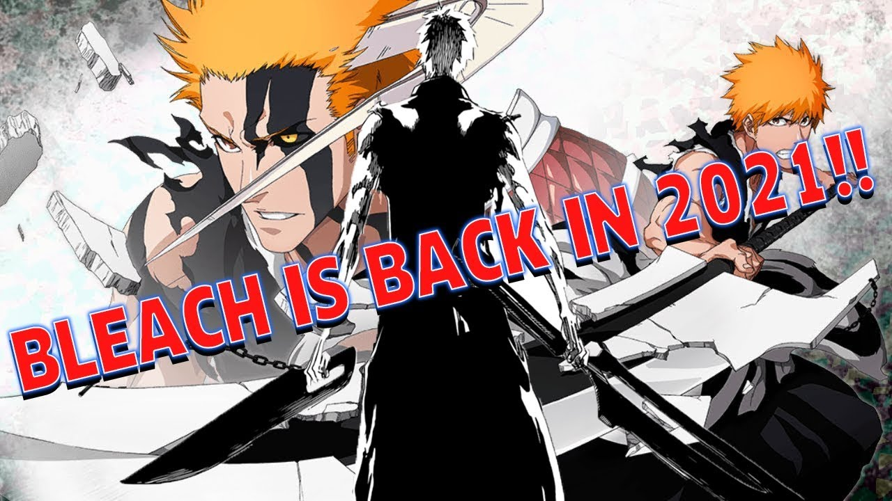 Bleach Is Back Thousand Year Blood War Anime Announced And Burn The Witch Anime Announced Youtube
