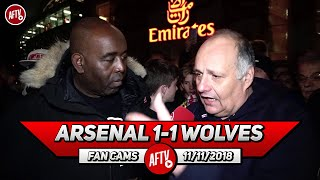Arsenal 1-1 Wolves | What Did Ozil Do Today?! He's On 300k A Week ! (Claude)