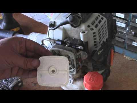 Echo SRM-231 Carburetor & Trigger Replacement