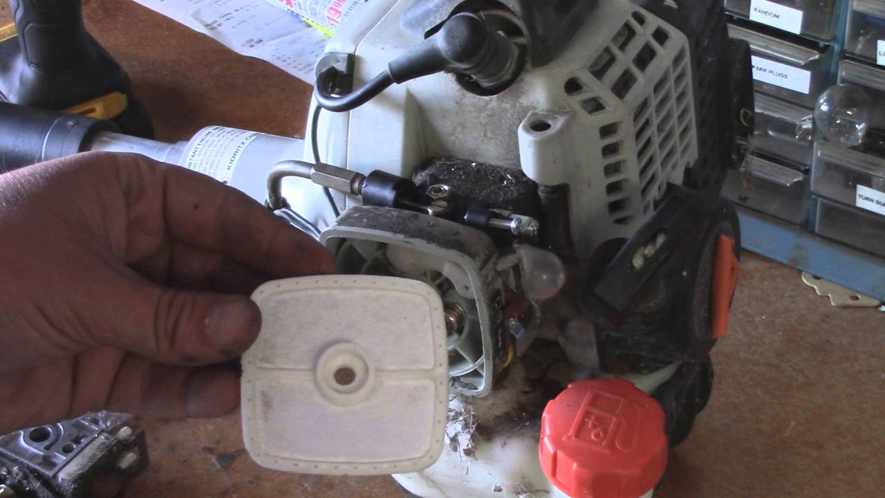Echo Srm-231 Carburetor  U0026 Trigger Replacement