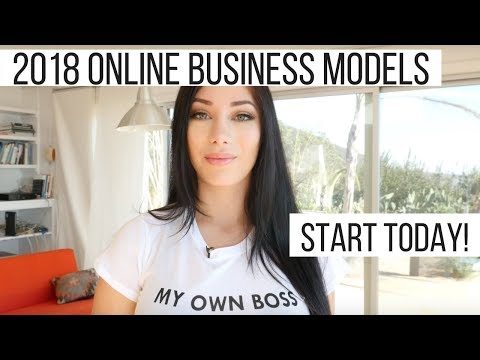 Online business Ideas for 2018 - Start TODAY!