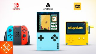 Nintendo Switch VS Panic PlayDate VS Analogue Pocket