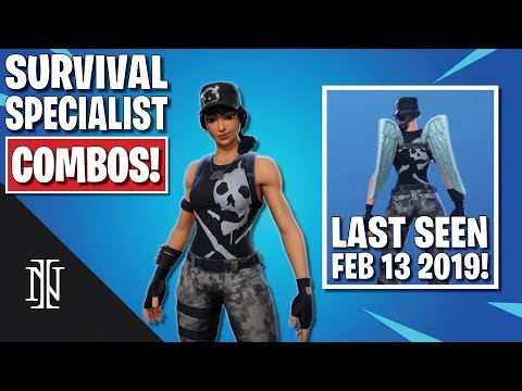 SURVIVAL SPECIALIST COMBOS In Fortnite