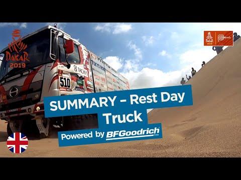 Summary - Truck - Rest Day (Arequipa / Arequipa) - Dakar 2019