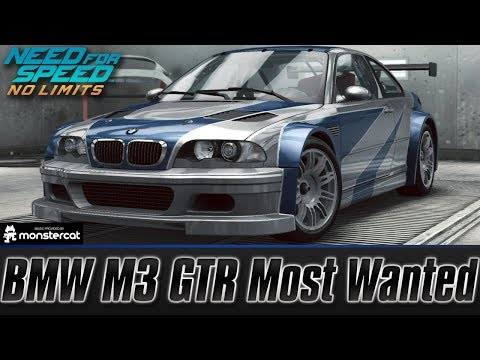Need For Speed No Limits Bmw M3 Gtr Most Wanted Customization