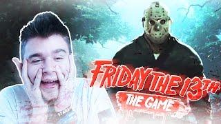 JASON BLADEUSZ! | Friday the 13th: The Game [#1] (With: Max, Admiros, Plaga, Paveł) #Bladii