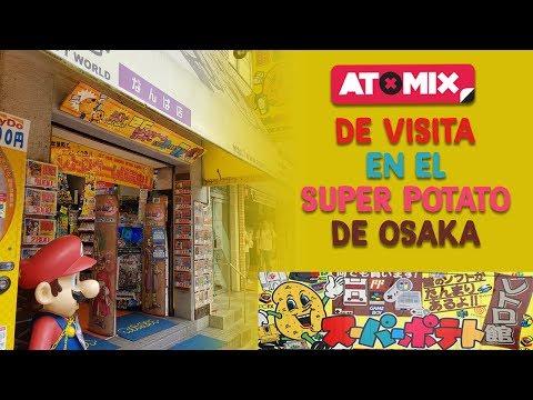 ¡Visitamos el Super Potato de Osaka!