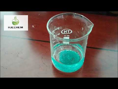 Copper Sulfate Pentahydrate(7758 99 8)Soluble In Water Experiment