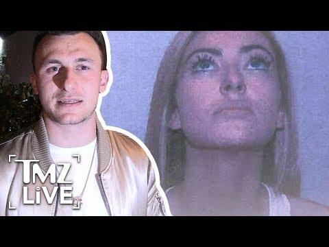 Johnny Manziel Domestic Violence Photos & Report Released   TMZ Live