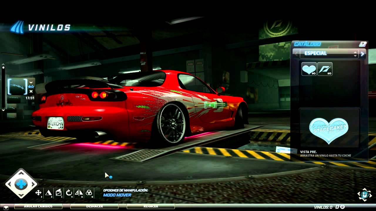 Fast And Furious Cars Wallpaper Free Download Need For Speed World Vinyls Visual Mazda Rx 7 Youtube