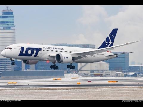 Warsaw Okecie (EPWA) to New York JFK (KJFK) FSX LOT B787 with Published Missed Approach