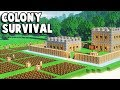 Colony Survival - Fort TOAST - Kingdoms and Castles + Minecraft! (Colony Survival part 1)
