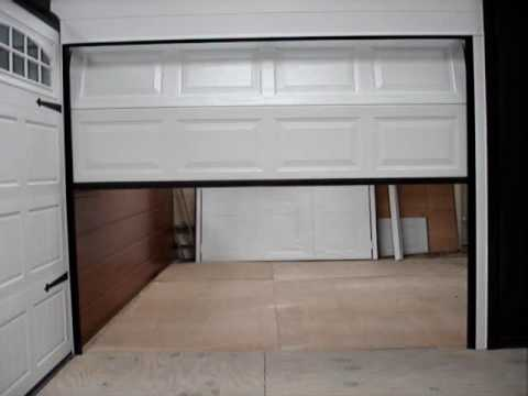 Sectional Garage Door Youtube