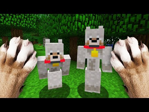Thumbnail: REALISTIC MINECRAFT - NITRO'S BROTHER!🐺