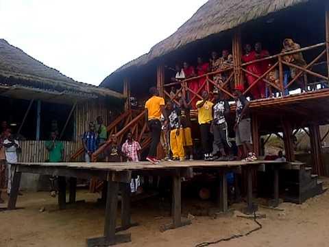 Break-Dancing team at Tawala, Accra, Ghana