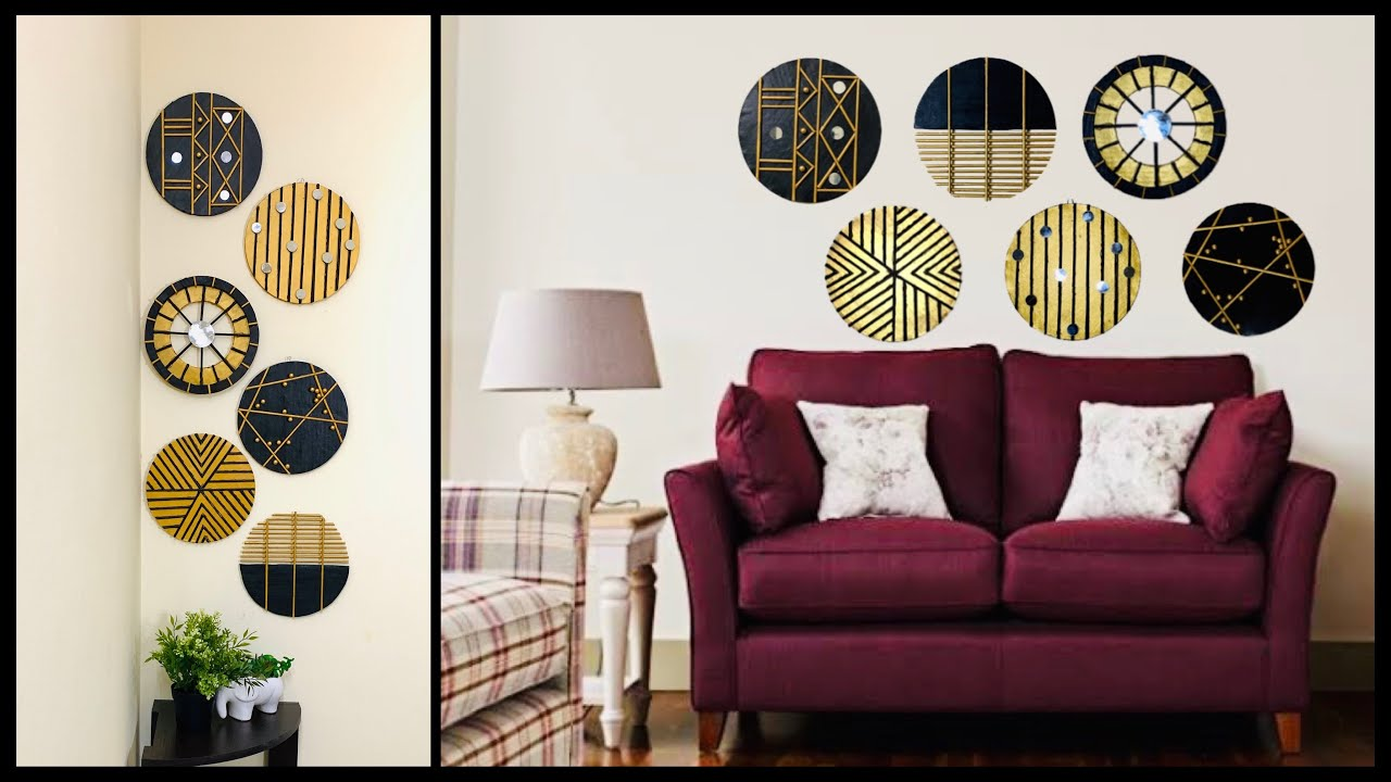 6 Handmade Craft Ideas For Your Wall Decor Create A Unique Statement Wall Gadac Diy Wall Hanging Youtube