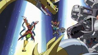 究極体に進化したウォーグレイモンとメタルガルルモンの力でついにヴェ...