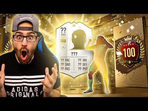 OMG PRIME ICON IN TOP 100 REWARDS FUT CHAMPIONS! FIFA 19 Ultimate Team