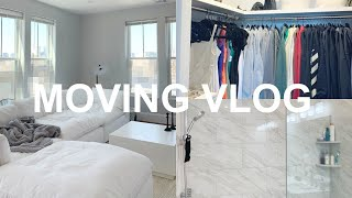 MOVING VLOG: packing & unpacking my apartment!