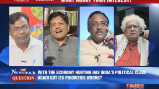 The Newshour Debate: Middle class last priority? - FULL DEBATE